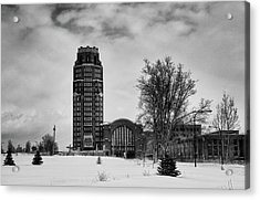 Central Terminal 4431 Acrylic Print by Guy Whiteley