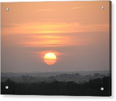 Acrylic Print featuring the photograph Central Texas Sunrise by John Glass
