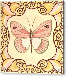 Ceramic Butterfly 2 Acrylic Print