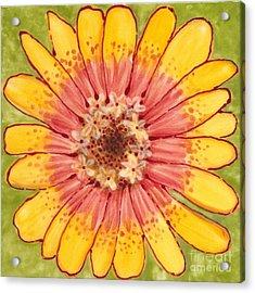 Ceramic Flower 1 Acrylic Print