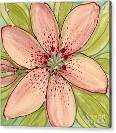 Ceramic Flower 2 Acrylic Print