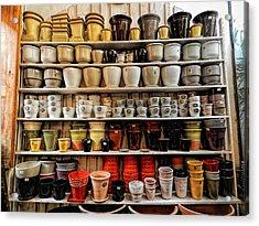 Ceramic Pots For Sale Acrylic Print