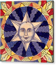 Ceramic Star Acrylic Print