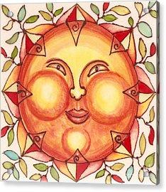 Ceramic Sun 2 Acrylic Print