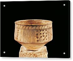 Ceramic Vase. Ca.  400 Bc. La T�ne Acrylic Print by Everett