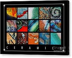 Ceramics Acrylic Print by Urilla Art