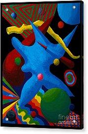 Cerebral Cessation Acrylic Print by Vicki Maheu