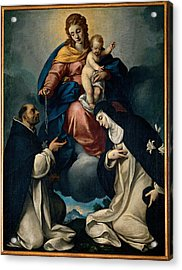 Ceresa Carlo, Our Lady Of The Rosary Acrylic Print by Everett