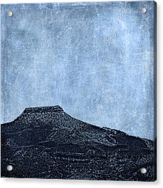 Cerro Pedernal Acrylic Print by Carol Leigh
