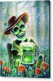Cerveza Verde Acrylic Print