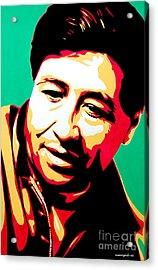 Cesar Chavez Acrylic Print