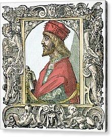 Cesare Borgia (c Acrylic Print by Granger
