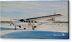 Cessna 208 Caravan Acrylic Print by Marilyn  McNish