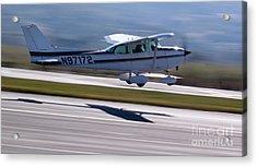 Cessna Takeoff Acrylic Print