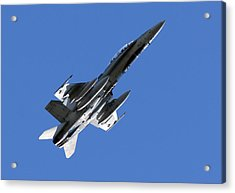 Cf-18 Hornet Acrylic Print by Cale Best