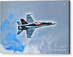 Cf18 Hornet  Acrylic Print by Cathy  Beharriell