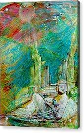 Chacmool De Chichen Itza Acrylic Print
