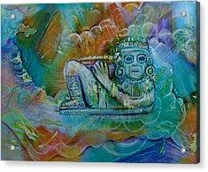 Chacmool De Templo Mayor Acrylic Print