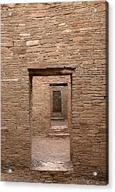 Chaco Canyon Acrylic Print by Steven Ralser