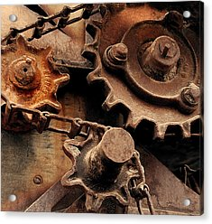 Chain Driven  Acrylic Print by Steven Milner