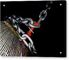 Chain Still Life Acrylic Print