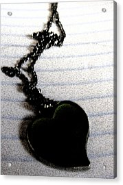 Chained Heart Acrylic Print