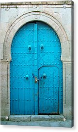 Chained Mini Door Acrylic Print