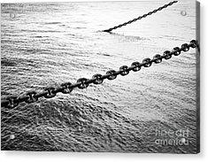Chains Acrylic Print by Dean Harte