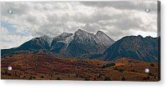 Acrylic Print featuring the photograph Chair Mountain  by Eric Rundle