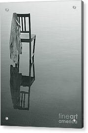 Chair Reflection Acrylic Print