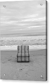 Chair Acrylic Print by Thomas Leon