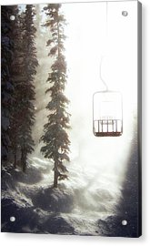 Chairway To Heaven Acrylic Print by Kevin Munro
