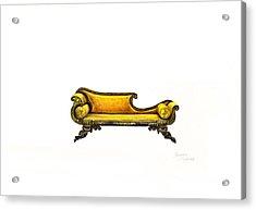 Chaise  Acrylic Print