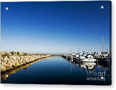 Acrylic Print featuring the photograph Challenger Harbour Of Fremantle by Yew Kwang