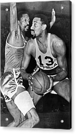 Chamberlain Versus Russell Acrylic Print by Underwood Archives