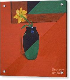 Chameleons Vase Acrylic Print