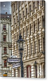 Chamissoplatz Acrylic Print by Nathan Wright