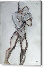 Champ Acrylic Print by Carolyn Weltman