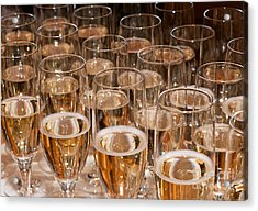 Champagne 02 Acrylic Print by Rick Piper Photography