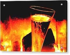 Champagne Wishes Acrylic Print by Jerome Stumphauzer