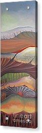 Champignons Landscape Acrylic Print