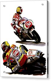 Champion 34  Kevin Schwantz Acrylic Print