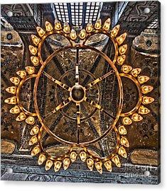 Chandelier At Hagia Sophia Acrylic Print