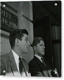 Chandler Cowles Jr. And Efraim Zimbalist Jr Acrylic Print