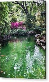 Chandor Gardens Acrylic Print by Lezlie Faunce