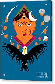 Chandraghanta Acrylic Print