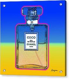 Chanel Bottle 1 Acrylic Print
