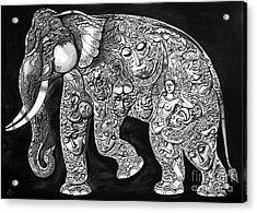 Chang Acrylic Print by Kritsana Tasingh