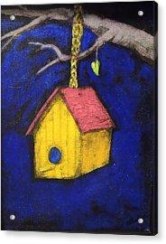 Change Of Season Acrylic Print by Barbara  Rhodes
