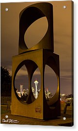 Changing Form Of Seattle Acrylic Print